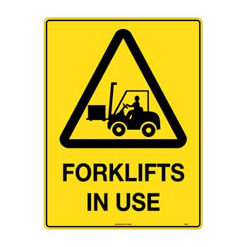 Forklifts In Use