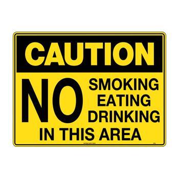 No Smoking Eating Drinking