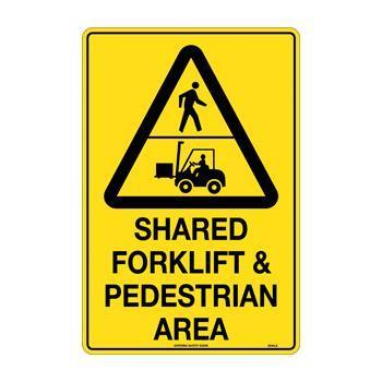 Shared Forklift & Pedestian Area