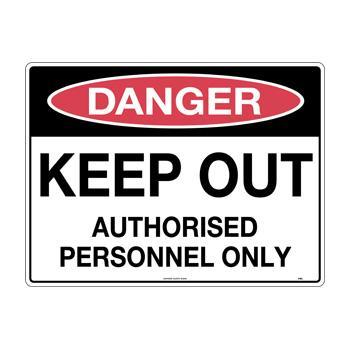 Keep Out Authorise Personnel Only