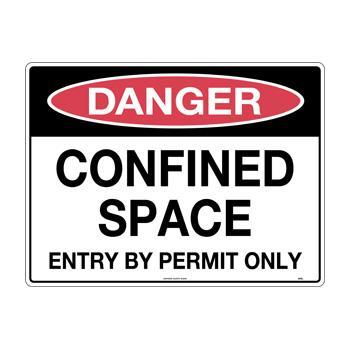 Confined Space Entry by Permit Only