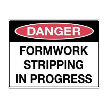 Formwork Stripping in Progress