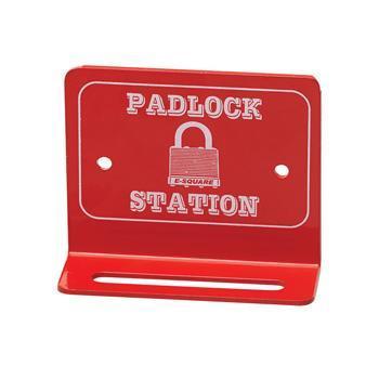 Wall Mounted Mini Padlock Station
